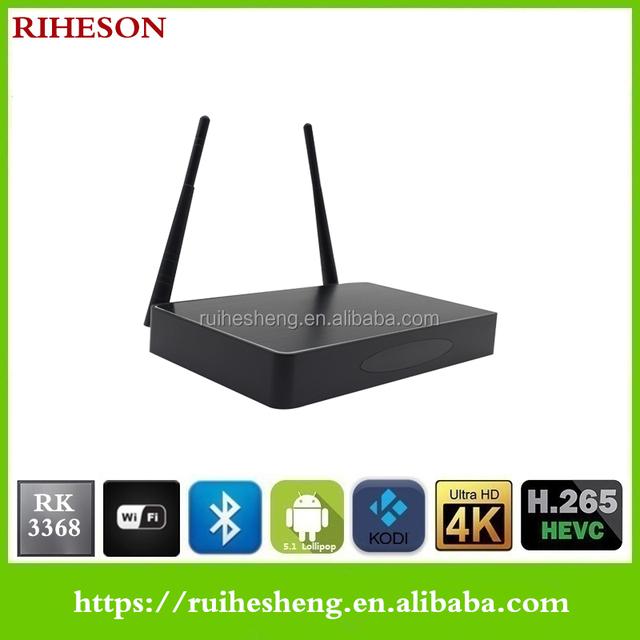 High Quality Digital Metal Cable TV RK3368 Set Top Box