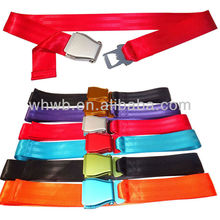 OEM fashion aircraft buckle bottle opener belt