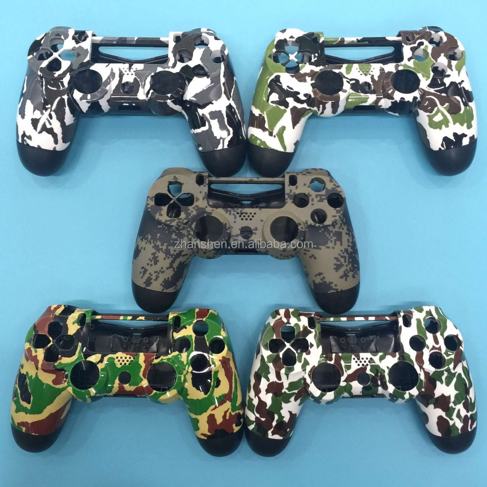 Wholesale Camouflage Gamepad Case Cover for PS4 Controller Housing Shell