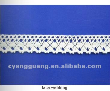 2017 New Style Woven Lace Webbing For Clothing