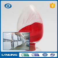 excellent quality new coming highlight spray red powder coating