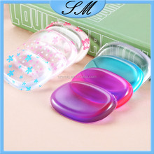 Silicone Makeup Sponge Makeup Applicator Blender Perfect For Face Make Up Amazon Hot Sale Cosmetic Silicone Powder Puff