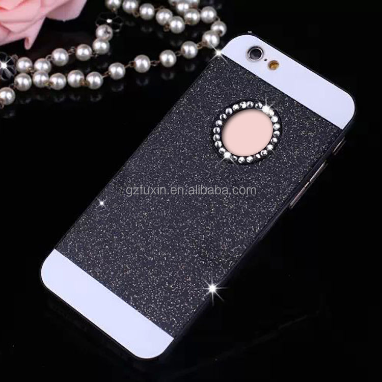 Hot cheap crystal bling glittering diamond phone covers case for iphone 6