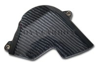 Carbon fiber Sprocket Cover with aluminum inserts for Honda CBR600RR 03-06