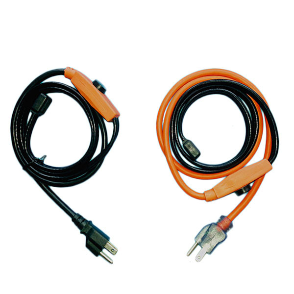 Water Pipe Heating Cable : Usa plug water pipe heating cable with temperature