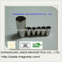 n45 strong sintered permanent neodymium cylinder magnets for high quality