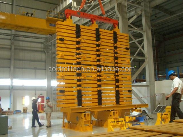 Transformer core turning & stacking machine