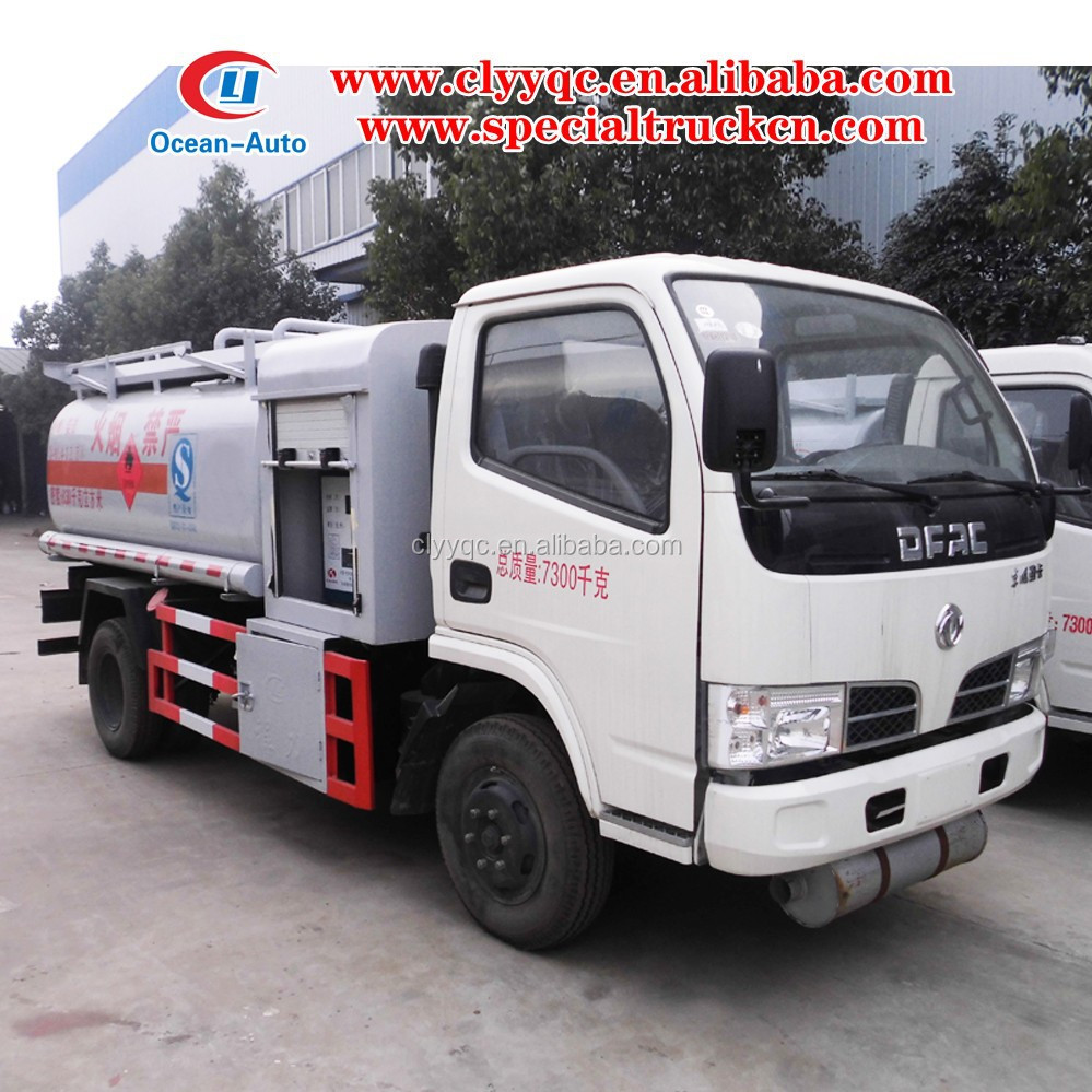 DongFeng mini fuel tanker truck sale
