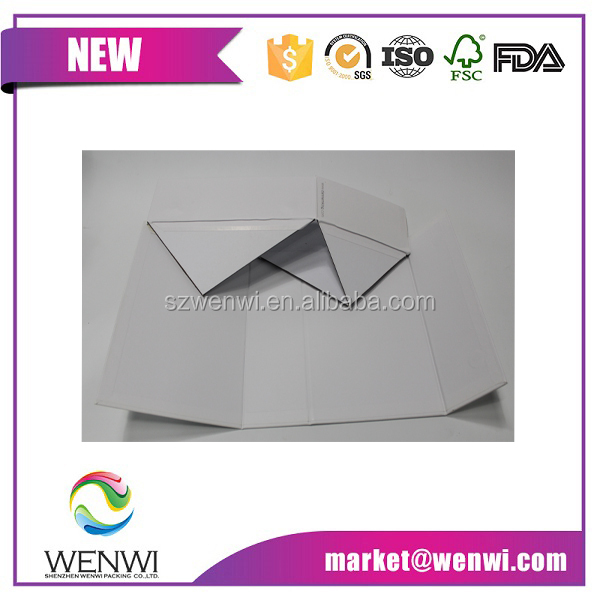 Quality primacy templates for paper folding gift box