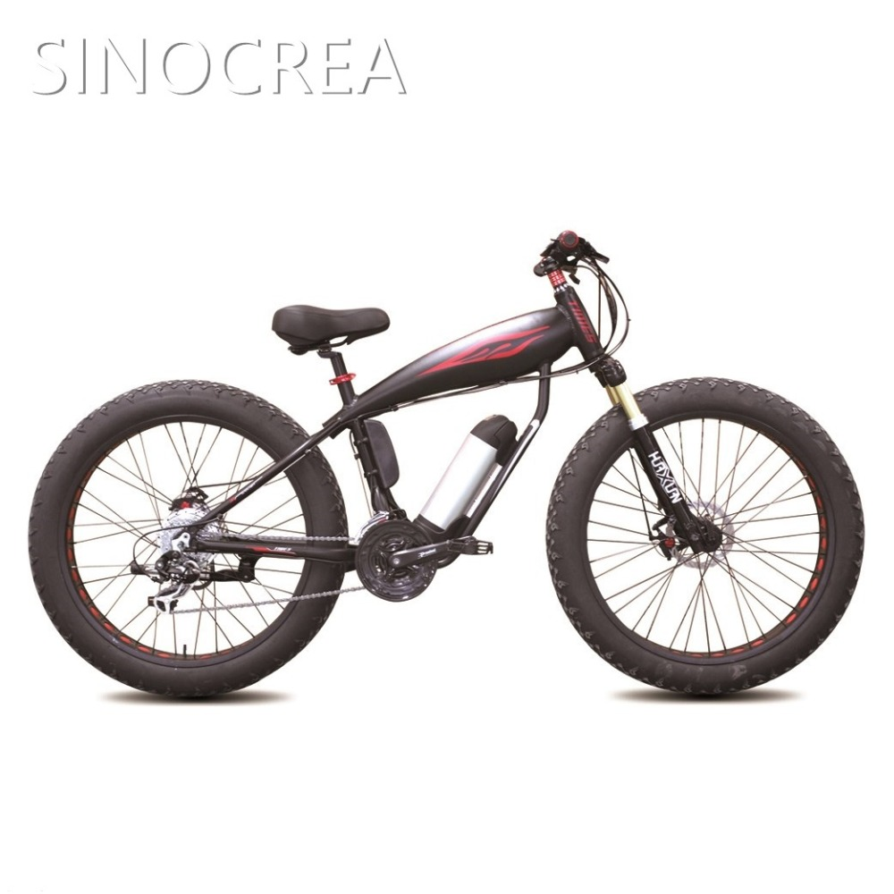 Quality hot sale factory direct electric fat bicycle OC-26X4.0 wholesale cruiser bikes