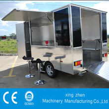 The best selling fast mobile food caravan for sale