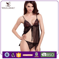 Top Sale Delicate Mature Women Nude China Manufactures Lingerie Babydoll