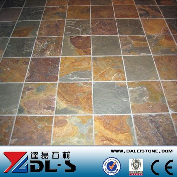 Brown Slate Tile For Landscaping Stone