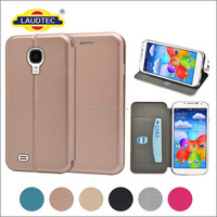 Durable PU Leather Magnetic Flip Wallet Case Cover + Tempered Glass For Samsung Galaxy S4