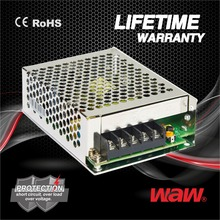 Mini size 12v 5a 60w MS-60-12 ac to dc 110V/220V Switching Power Supply CCTV power supply with CE ROHS approved