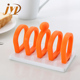 Ceramic material toast rack bread holder for home or cafe