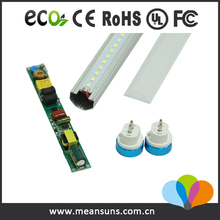 Factory wholesale general electric 125lm/w led tube light t5 24w for office lighting