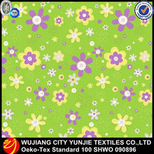 polyester pigment printing microfiber fabric for bed sheet