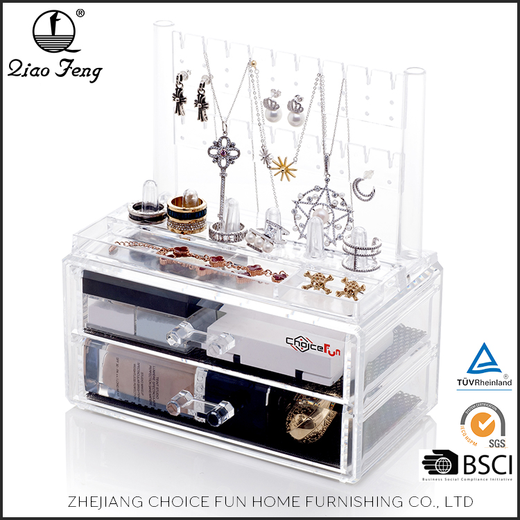 New Product OEM China OEM Competitive Price Transparent Plastic Make Up Box
