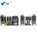 RO Water Purification System Machine, Mini Mineral Water Plant