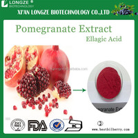Kosher&Halal factory Supply Pomegranate Extract pomegranate seed extract powder with Ellagic Acid