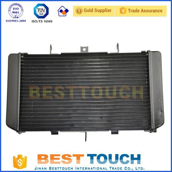 Full aluminum KVF700-A1 PRAIRIE 700 4X4 (2004) motorcycle price of radiator replacement for KAWASAKI