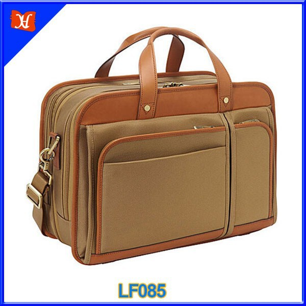 Function Business Laptop Briefcase Shoulder messenger bags leather briefcase handle