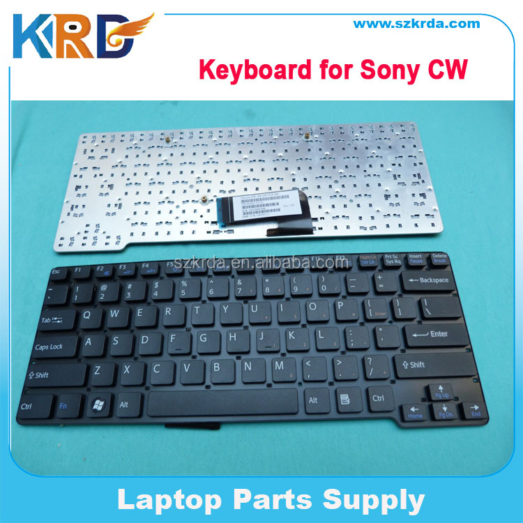 Wholesale US Keyboard for Sony CW series Laptop Keyboard Black/White English