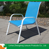 stackable aluminium garden chair