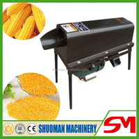High production efficiency corn husk peeling machine