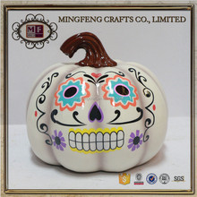 Halloween resin decoration spooky pumpkin