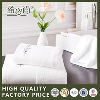 Hot Selling High Quality 100% Terry Cotton Wholesale Luxury Bath Towels For White Hotel Towel