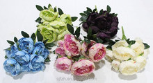 High quality pink artificial tulip for table centerpiece decoration silk tulip flower bouquet