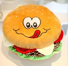 Simulation food pillow food cushion hamburger pillow