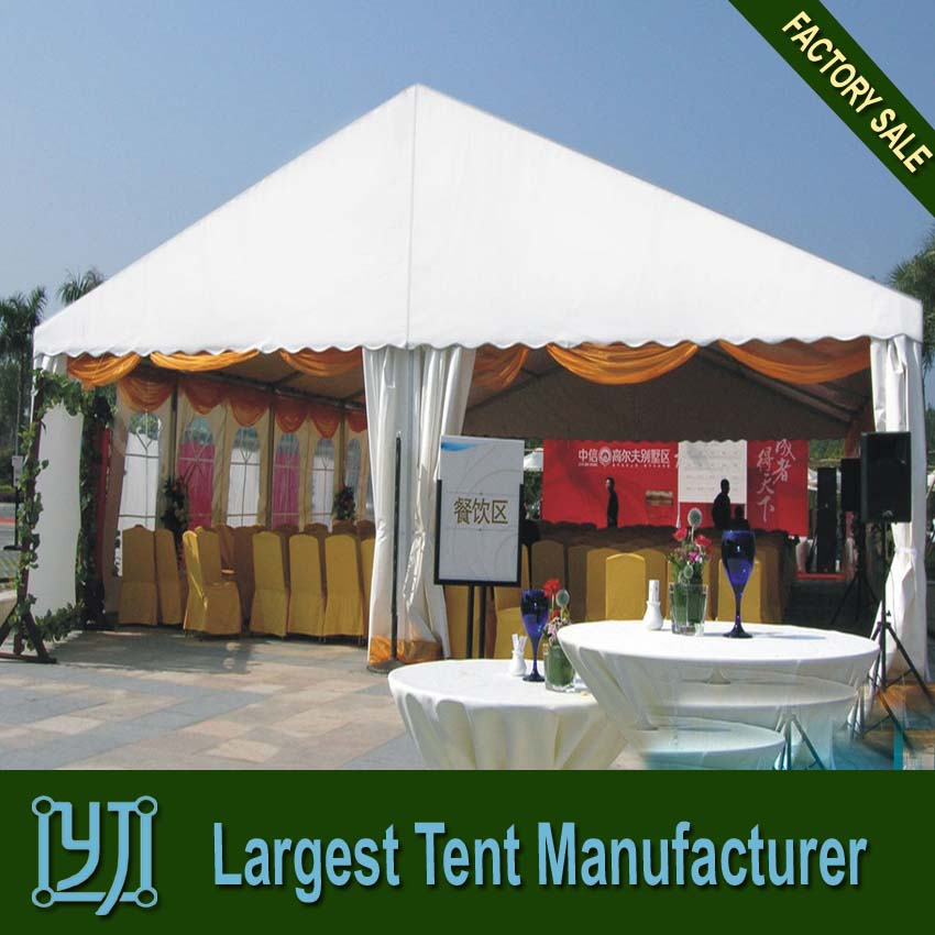 backyard marquee tent