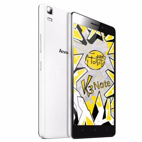 Lenovo Lemon K3 Note 5.5 inch IPS Screen 4G Android OS 5.0 Smart Phone, MT6752 Octa Core 1.7GHz, RAM: 2GB, RAM: 16GB, FDD-LTE &