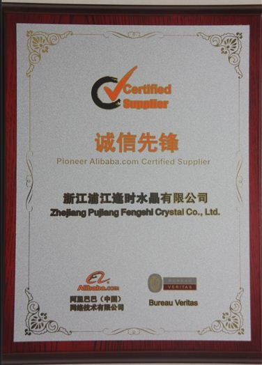 Pioneer Alibaba.com Certified Supplier