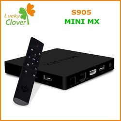 Best Selling 1Chip 2015 New chip MINI MX android 5.1 amlogic s905 quad core tv box