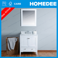 HOMEDEE wholesale double bath vanity cabinet 2 sinks with top