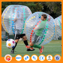 Giant style China supplies competitive price PVC/TPU CE colorful inflatable bumper ball