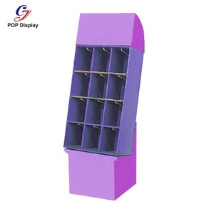 Promotion Cardboard Display For Book Greeting Card, Retail Display Stand Display Merchandise, Pop Display