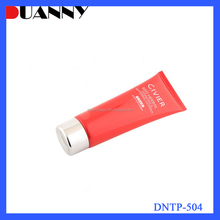 Custom Logo 30ml Round Pe Plastic Cream Tube With Screw Cap