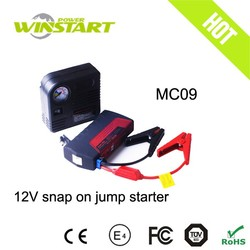 Multi-function air compressor 12v car jump starter/mini car booster for emergency use