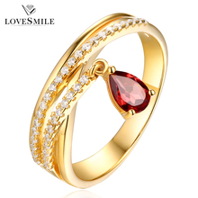Jewelry supplier pure silver ring, gemstone yellow gold plated ring for wedding