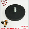 Neodymium Thread Hole Black Rubber Coat