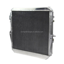 All Aluminum auto radiator for TOYOTA SURF HILUX 2.4/2.0 LN130 AT/MT