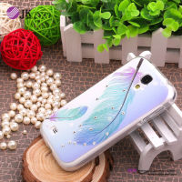 Cell phone tpu case with diamond for samsung galaxy s4