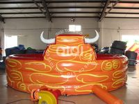 5.2*5.2m Inflatable Inflable Mechanical Bull Rodeo Riding Toys