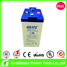 Deep Cycle Solar Panel GEL Battery 2V 500Ah, AGM battery for UPS, deep cycle
