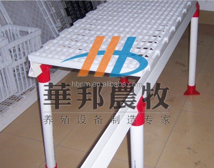 hot selling floor slat poultry farm for poultry drops cleaning